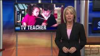 Autism and The TV Teacher - Learning to read and write