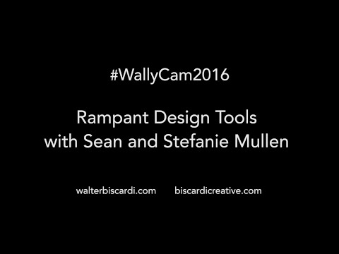 #WallyCam #NABShow 2016 - Rampant Design Tools Sean and Stefanie Mullen