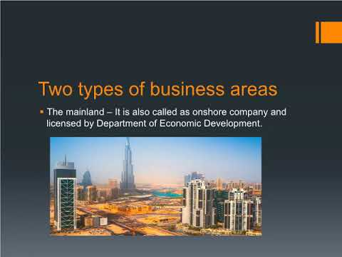 Business set up in Dubai