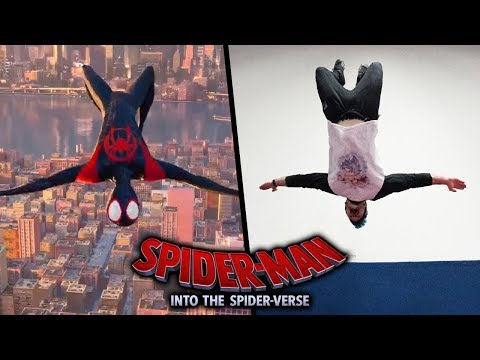 Spider-Man: Into the Spider-Verse Stunts In Real Life (Parkour)