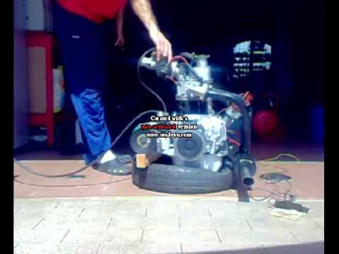 Prima Accensione Motore fiat 500  cilindrata 650 cc!!!!!