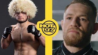 Reactions To Conor McGregor vs Khabib Nurmagomedov Fight & The Fireworks Afterwards