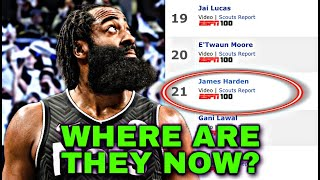 What Happened To Every Prospect Ranked Above James Harden? Pt.1