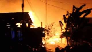Kebakaran di Dahor 2,3 dan jln kilat Balikpapan