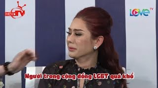 Lâm Khánh Chi khóc nức nở với chàng gay bị mẹ TRA TẤN DÃ MAN cả dòng họ xem như ĐÃ CHẾT😭