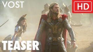 Thor : le monde des ténèbres :  teaser VOST