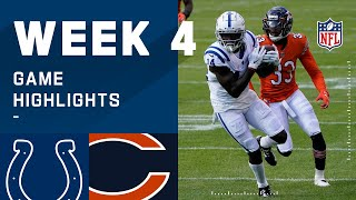 Colts vs. Bears Week 4 Highlights | NFL 2020