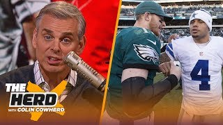 Chiefs are too reliant on Mahomes, Eagles vs Cowboys isn't as urgent as it seems | NFL | THE HERD