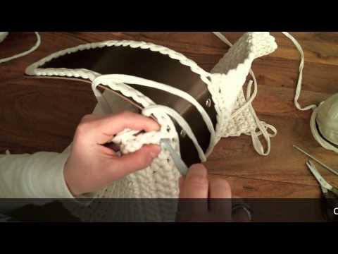 borse in fettuccia tutorial per utilizzare il giroborsa