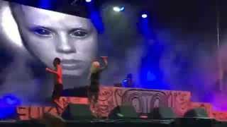 I Fink U Freeky - Die Antwoord  live at Beach Goth
