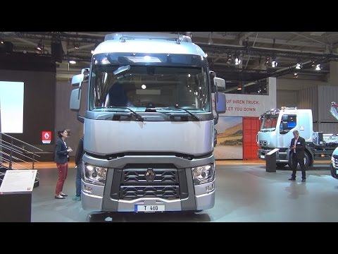 Renault Trucks T 460 Comfort Swap Body Truck (2017) Exterior and Interior in 3D