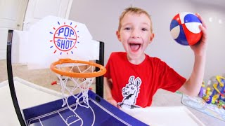 Father & Son HOUSE BASKETBALL / Trick Shots
