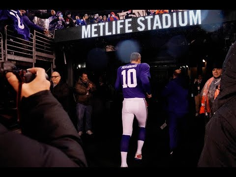 Goodbye Big Blue, New York Giants QB Eli Manning calls it a career