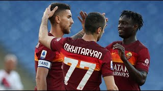 AS Roma 5-0 Crotone | Serie A Italy | All goals and highlights | 09.05.2021