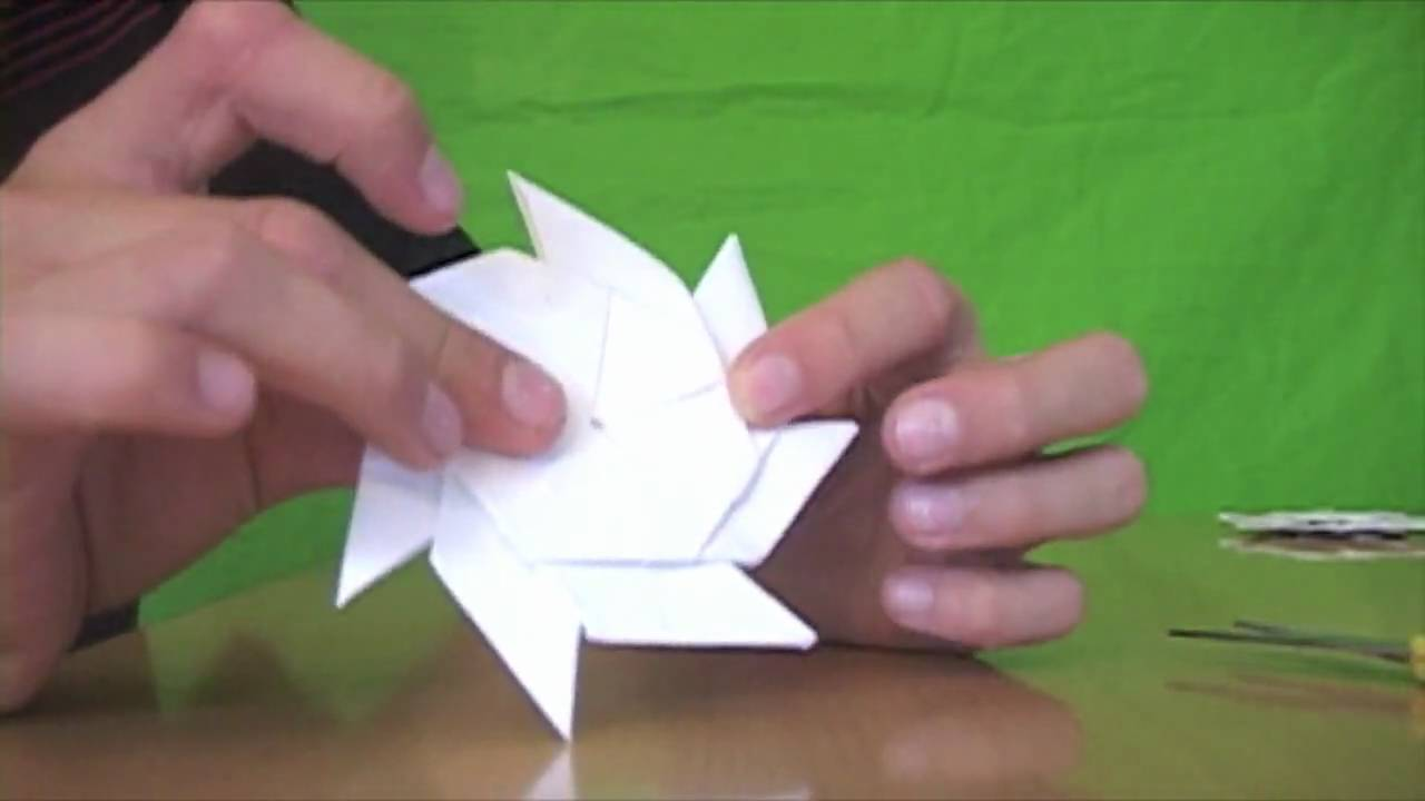 How To Make Origami Ninja Stars - YouTube - photo#37
