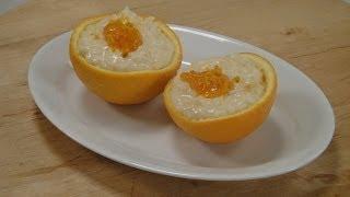 Orange Curd Rice ..