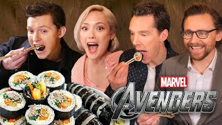 한국음식을 먹어본 어벤져스 배우들의 반응?! (실화)