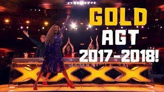"Top 10 BEST ""GOLDEN BUZZERS"" AUDITIONS EVER ON America's Got Talent 2017 - 2018!"