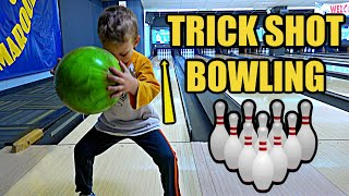 Bowling TRICK SHOT Challenge | Colin Amazing