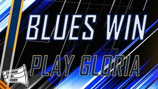 St. Louis Blues 2019 Win Horn (PLAY GLORIA)
