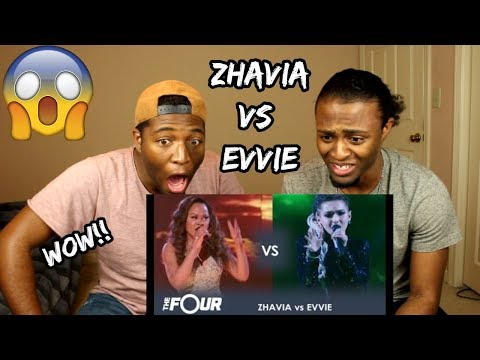 Zhavia vs Evvie: THE BATTLE OF THE SEASON!!! | Finale | The Four (REACTION)