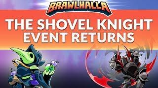 The Shovel Knight Event Returns! - Brawlhalla Dev Stream Montage