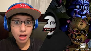 The Story Is NOT Over! || Game Theory: 3 NEW FNAF Security Breach Theories! REACTION