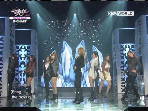 [Music Bank K-Chart] The Boys - Girls' Generation (2011.10.21)