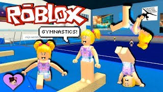 Baby Goldie Roblox Gymnastic Class Fail - Titi Games Roleplay