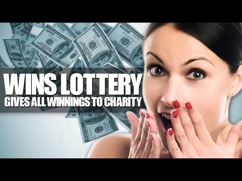 Lottery Winner Gives It All To Charity - Smashpipe News