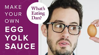 The Science of Egg Yolks and How to Make Them Taste Like Parmesan Cheese | What's Eating Dan?