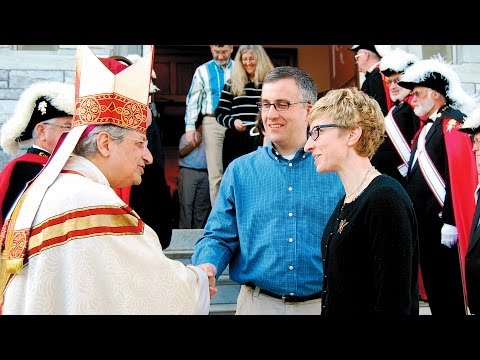 Bishop Matano interview excerpt: Time in Burlington