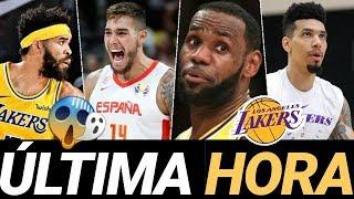 RUMORES 👀 NOTICIAS 🔥 y ÚLTIMA HORA en LAKERS y NBA en español 💜💛