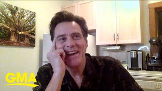 Jim Carrey talks about his new book, 'Memoirs and Misinformation' l GMA