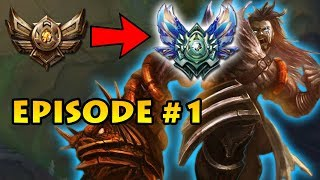 From the Depths of Bronze to Diamond Episode #1 | PLUS Update on Unranked to Bronze 5 Report