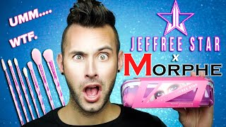 ARE THEY BAD?! Jeffree Star x Morphe BRUSH SET Review! | Ummm...WTF.