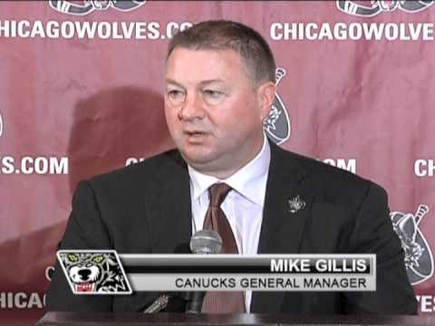 Chicago Wolves Team Affiliation Press Conference