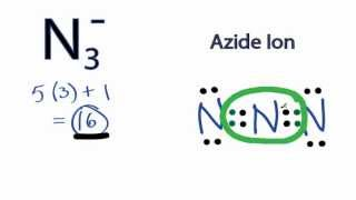 N3- Lewis Structure: How to Draw the Lewis Structure for N3-