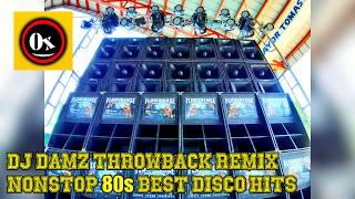 NONSTOP BEST 80's DISCO HITS PARTY REMIX  - DJ Damz Throwback(MASA) REMIX - Battle Mix 2019