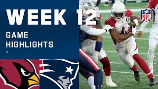 Cardinals vs. Patriots Week 12 Highlights | NFL 2020