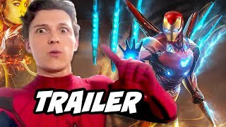 Spider-Man Far From Home Trailer 2 - Avengers Endgame Timeline Breakdown