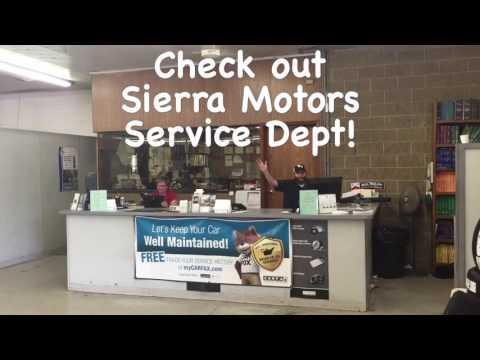 Sierra Motor Mall Service Department