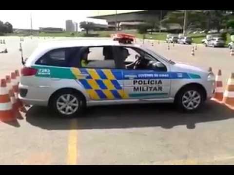 Baliza de fuga da PM Brasileira impressiona estrangeiros; vídeo