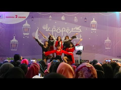 (G)I-DLE ((여자)아이들)_LATATA by QUEEN PANDA at Kpopers Ngabuburit 2018