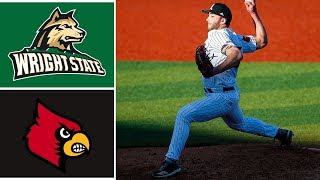 Wright State vs #2 Louisville Highlights | 2020 College Baseball