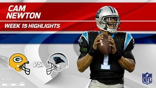Cam Newton Highlights | Packers vs. Panthers | NFL Wk 15 Player Highlights