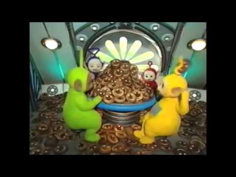 Teletubbies The Tubby Toast Accident With The Lion And