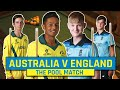 Australia v England but on the pool table!