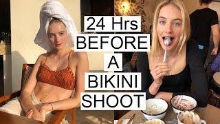 24 Hrs Before a Bikini Shoot   What I Eat, How I Train, & My Body Prep   Sanne Vloet