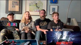Marvel studios Endgame Official Trailer - REACTION